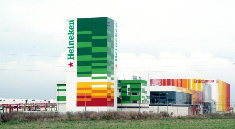 Instalaciones de Cruzcampo en Sevilla.
